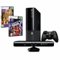 Xbox 360 4GB Kinect + Kinect Adventures + Dance central 3